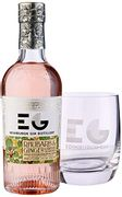 Edinburgh Gin Rhubarb and Ginger Gin Liqueur with Glass Gift Set 20cl
