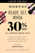 30% off All Brush Collections