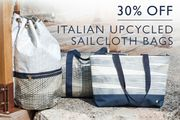 30% off Recycled-Sail Bags