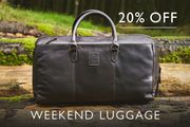 20% off Weekend Luggage