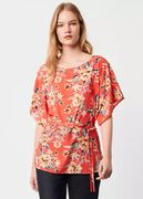 French Connection Floral Belted Top