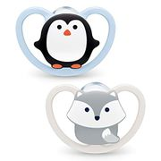 Nuk Soother 2 Pack ,0/6 Months