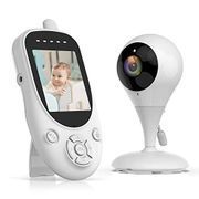 "Campark Baby Monitor with Camera Video Night Vision 2.4"" LCD Digital Cam 1000ft"