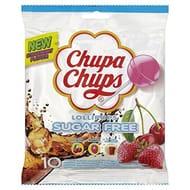 Chupa Chups Fruity Lollipops Multipack Sharing Bag, (Pack of 120)