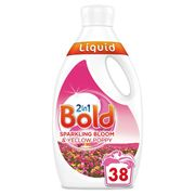Bold 2in1 Washing Liquid Sparkling Bloom & Yellow Poppy 1.33L 38 Washes 1.33L