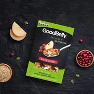 6 X Goodbelly Wholegrain Oat Flakes Apple Cranberry Pumpkin 350g Boxes