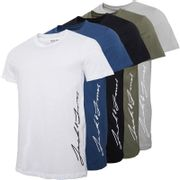 JACK and JONES Ombre Mens 5 Pack T-Shirts