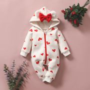 Baby Heart Jump Suit