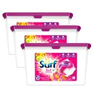 Surf: Tropical Lily & Ylang-Ylang Washing Capsules (Case of 3 X 18 Wash 382g)