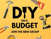 NEW DIY on a Budget Facebook Group