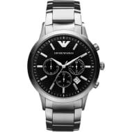 Emporio Armani AR2434 Men's Black Chronograph Watch £88 Delivered Using Code