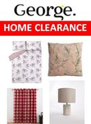 Asda George Home Clearance Sale  Prices from £4