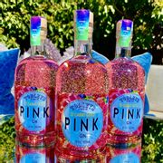 Pink Gin with 22 Carat Gold
