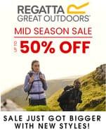 Regatta Outdoors - Mid-Season Sale - up to 50% OFF
