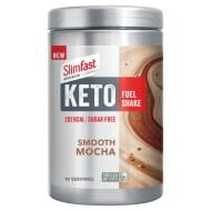SlimFast: Keto Fuel Shake Smooth Mocha 350g (Vanilla also available)