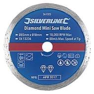 Tile Mini Diamond Circular Saw Blade 85 X 10mm (5809t)