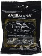 Jakemans Throat & Chest Sweets (10 Packets)