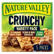 Nature Valley Crunchy Variety Cereal Bars 5x42g