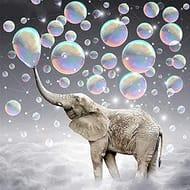 5D DIY Diamond Painting Kits Elephant