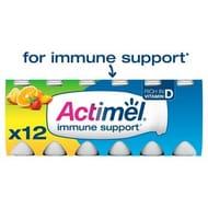 Actimel Multifruit Yogurt Drinks 12 X 100g at Morrisons