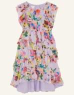 Helen Dealtry Brynn Floral Dress Purple