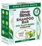 Garnier Ultimate Blends Coconut Hydrating Shampoo Bar with Aloe Vera 60g