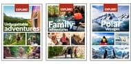 Unforgettable Adventures, Family Brochures & Polar Voyages Brochures