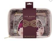 Ted Baker Trio Wash Bag Set £10 Only