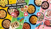 Muscle Food Hampers with 4 More for Free