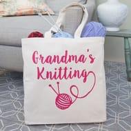 Pre-Personalised Knitting Bag