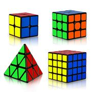 Save 15% on Coolzon Magic Cube Set, 4 Pack