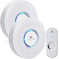 Wireless Doorbell with 2 Ringers - 59% off !!