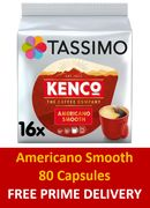 Tassimo Kenco - Americano Smooth - 80 Coffee Pods