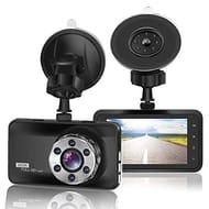 ORSKEY Dash Cam 1080P Full HD Car Camera