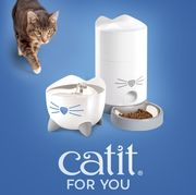 Buy Both the Catit PIXI Smart Fountain and Feeder Together and save £15!