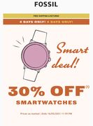 30% off Smart Watches