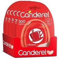Canderel Original Sweetener 300 Tablets Dispenser (Pack of 5)