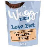 Wagg Low Fat Chicken Dog Treats 7 X 125 G