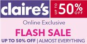 Claire's - up to 50% off ALMOST EVERYTHING - ONLINE ONLY