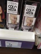 L'Oreal Colorista Hair Makeup Grey