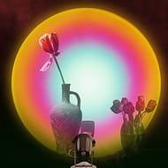 Best price Rainbow Projector Light, Night Light Projector LED