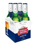 Stella Artois Premium Alcohol Free Lager Beer 4 X 330ml Bottles
