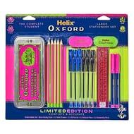 Helix Oxford Clash Stationery Set - Pink