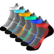DEAL STACK - Newdora Men's Ankle Athletic Trainer Socks, 6 Pairs + 20% Coupon