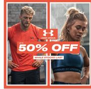 Special Offer! Up to 50% off under Armour