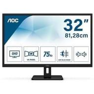 "AOC Q32E2N 31.5"" IPS QHD Monitor - Only £159.97!"