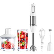 Homgeek 5-in-1 Hand 1000W Blender Set with Turbo Button - Only £31.99!