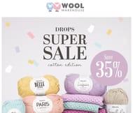 Drops Cotton Super Sale save 35%
