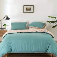 Uvet Cover Set King Size 3 PCS Bedding Sets with 2 Pillow Cases (220 X 230 Cm)