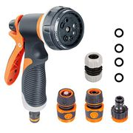 Onarway Garden Hose Spray Gun Set 8 Patterns High Pressure Nozzles